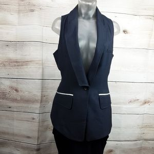C.Luce Grey Suit Vest Size M